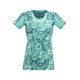 GORE RUNNING WEAR AIR PRINT Running T-shirt Women turquoise